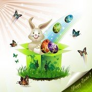 Easter Cards And Decorations Butterfly Eggs 02