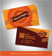 Pizza & Pattice Fast Food Business Card