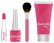Cosmetic Products Vector Free