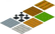 Isometric Floor Tile