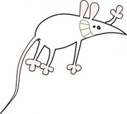 Mouse Cartoon Symbol