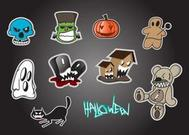 Halloween Vector Cartoons