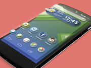 Android launcher theme
