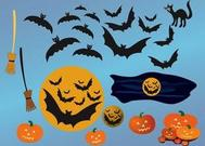 Halloween Night Vectors