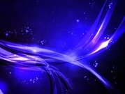 Abstract Wave Blue Background