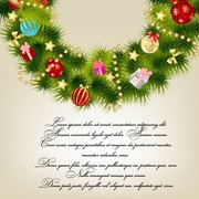 Christmas card background vector-5