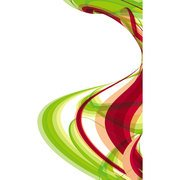 RED GREEN SWOOSHES VECTOR.eps