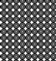 Black And White Free Geometric Abstract Seamless Vector Pattern