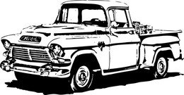 1950′S Gmc Pick-Up