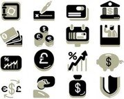 Stock Ilustrations Finance Banking Economy