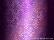Damask Pattern Background