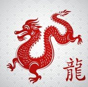 Chinese Papercut Dragon