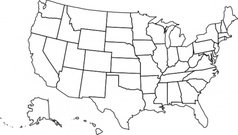 United States Map Template Usa Map Template   CYNDIIMENNA