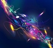 Abstract Music Design Background
