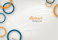 Vector Circle Abstract Background Free