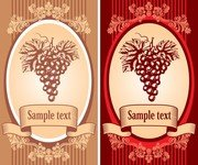 Classic Europeanstyle Wine Bottle Stickers