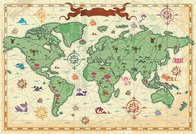 Travel And Tourism Elements Of Vector Material -3 Travel World Maps Old Maps