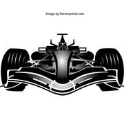 FORMULA ONE CAR VECTOR IMAGE.ai