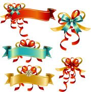 Bow Ribbon Banner