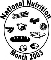Mois national de la Nutriion