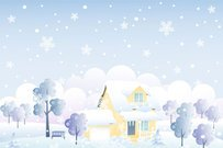 Cartoon cabin background 02