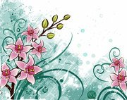 Lily Flower Background (Free)
