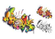 Set di graffiti