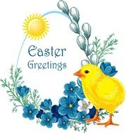 Easter Chicks Vector 3