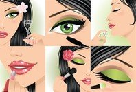 Make Up Vectors