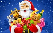 Colorful Vector, Santa Claus Is Coming