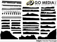Go Media Vector Chupin material - all kinds of paper silhoue