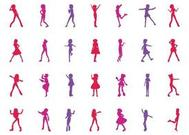 Girls Silhouettes Graphics