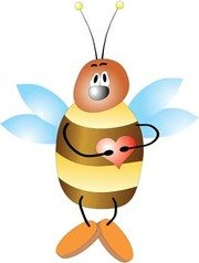 Bee With Hear