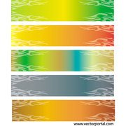 COLORFUL VECTOR BANNERS.eps