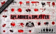 42 Grunge Splashes & Splatters