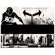 CITY SKYLINE VECTOR POSTER.eps