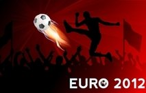 Euro Cup voetbal Banner