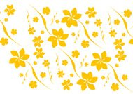 Free Seamless Floral Vector Pattern