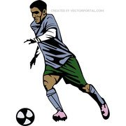 SOCCER PLAYER VECTOR GRAPHICS.eps