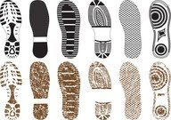 A Variety Of Fine Shoe Print 02