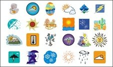 Weather cartoon series
