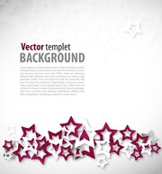 Abstract Vector Star Background