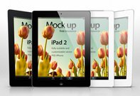 iPad 2 Psd Vector Mockup Template