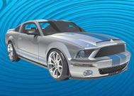 Voiture Mustang