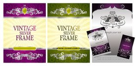 Poster card template