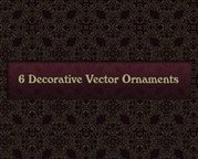 6 Decorative Vector Ornaments