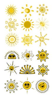 Expression vector solar material cute funny