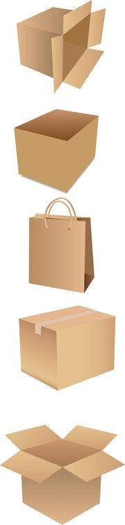 free vector shipping box 2