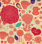 Fleur Vector Backgrounds