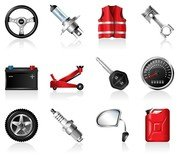 automotive accessories icon